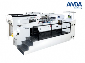 Fully automatic die cutting and foil stamping machine ATM1080